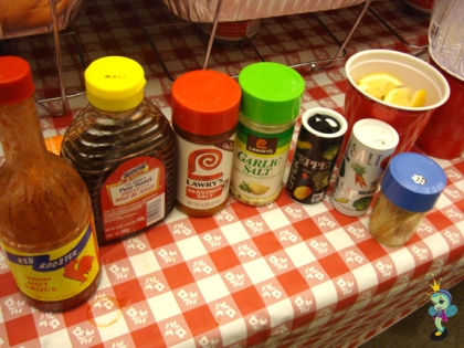 no meal is complete without the proper condiments